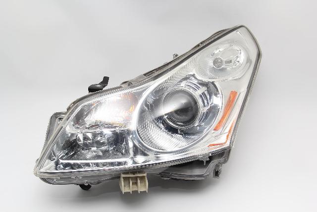 Infiniti G37 Sedan Headlight Head Light Lamp Left/Driver 26060-JK60D OEM 08-10