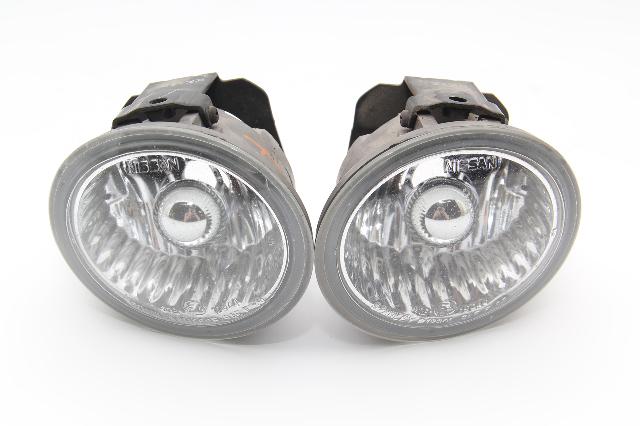 Infiniti FX35 FX45 Front Bumper Fog Light Lamp Set Left/Right OEM 03-05