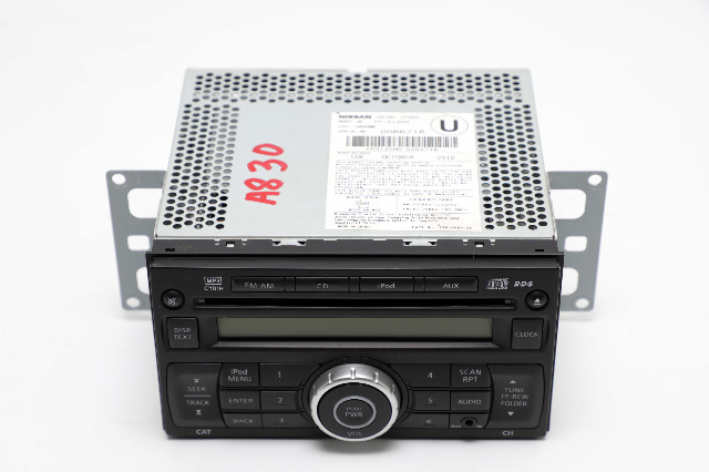 Nissan Cube CD Player Radio AUX Stereo 28185-1FS0A OEM 2011-2014