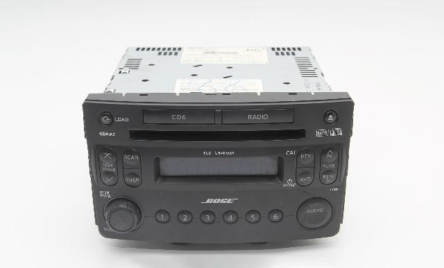 Nissan 350Z 05-08 Stereo Radio, CD Disc Player 28185-CF50B