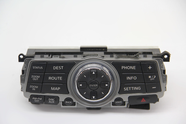 Infiniti G37 Navigation Info Control Display Unit 28395-1UF1A OEM 09 10 11 12 13