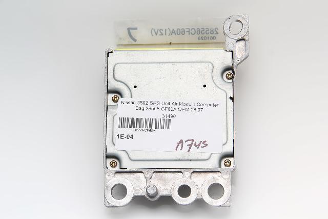 Nissan 350Z SRS Unit Air Module Computer Bag 28556-CF60A OEM 06 07