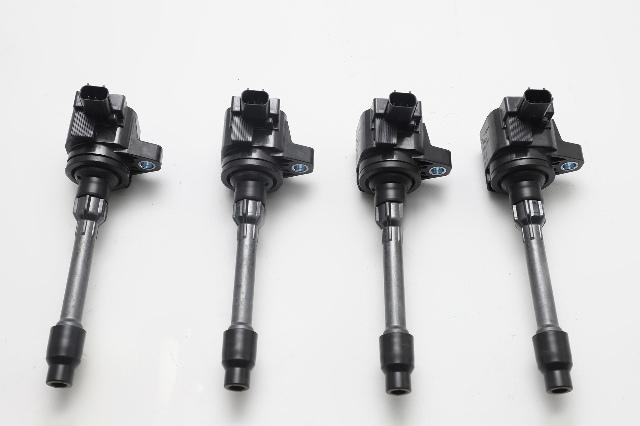 Honda Accord Hybrid Igniter Ignition Coil Plug 2.0L Set of 4 30520-59B-013 OEM 2017