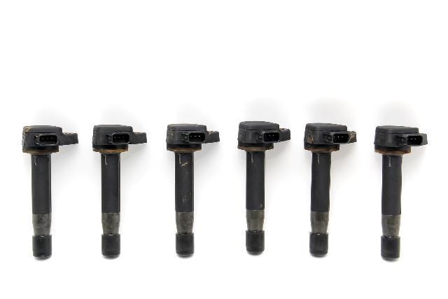 Honda Accord Igniter Ignition V6 Coil Plug 6 Pack Set 30520-P8E-S01 OEM 00-03