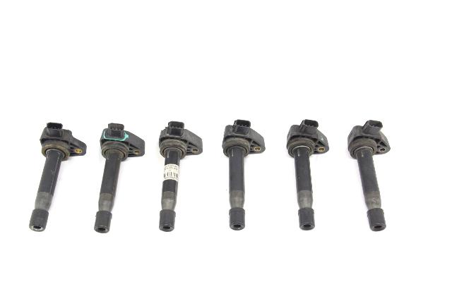 Honda Odyssey Igniter Ignition V6 Coil Plug 6 Pack Set 30520-P8E-S01 OEM 99-03