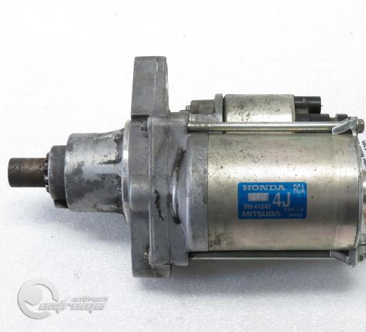 Acura TL Starter Motor 3.2L (6 Cylinder) Mitsuba M/T 31200