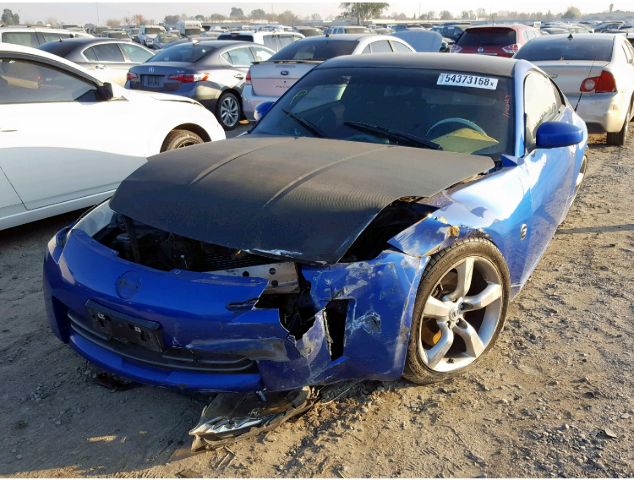 2006 Nissan 350Z Parts For Sale AA0743