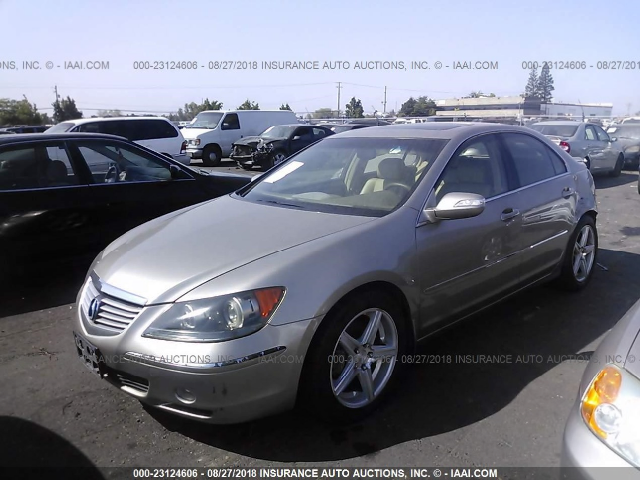 2005 Acura RL Gold Parting Out AA0748