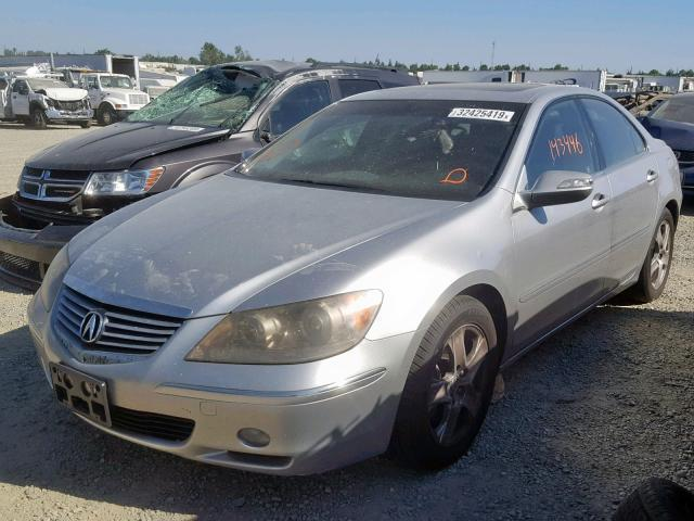 2005 Acura RL Silver Parting Out AA0781