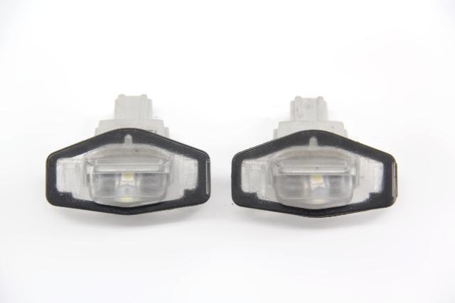 Acura TSX 04-08 Trunk LP License Plate Light, Lamp Housing Set 34100-SZ3-A01
