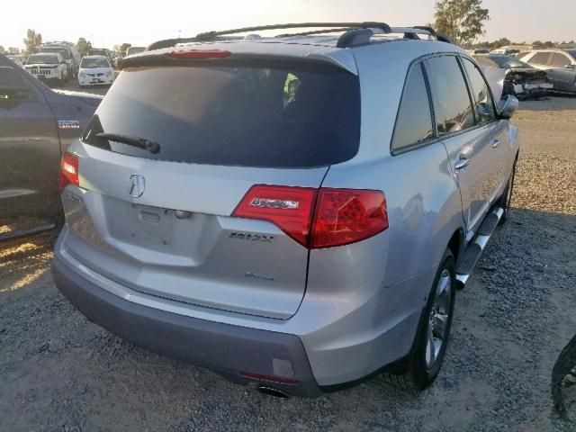 2007 Acura MDX Silver Sport Parts For Sale AA0832