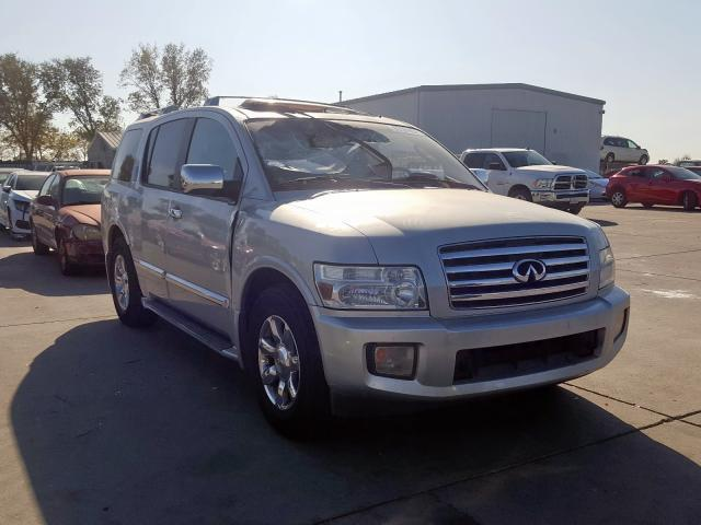 2005 INFINITI QX56 Silver Parts For Sale AA0836