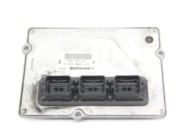 Honda Accord Engine Control Unit Computer ECU 6 Cyl A/T 37820-R70-A72, 08-09