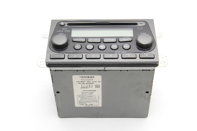 Honda Element CD Player Radio AUX  Audio Control 39101-SCV-A11 OEM 2005