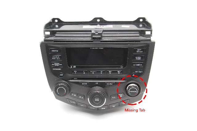Honda Accord 6 CD Player Changer Radio Auto Climate Control, Factory OEM 04-07