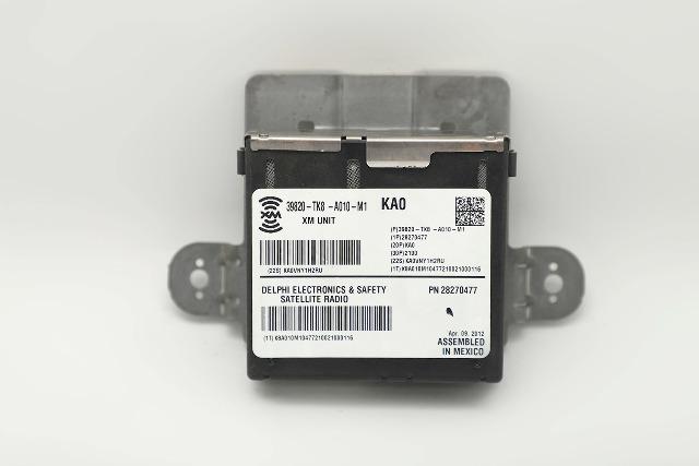 Honda Pilot XM Satellite Radio Receiver/Module/Unit 39820-TK8-A01 11-15 A933 2011, 2012, 2013, 2014, 2015