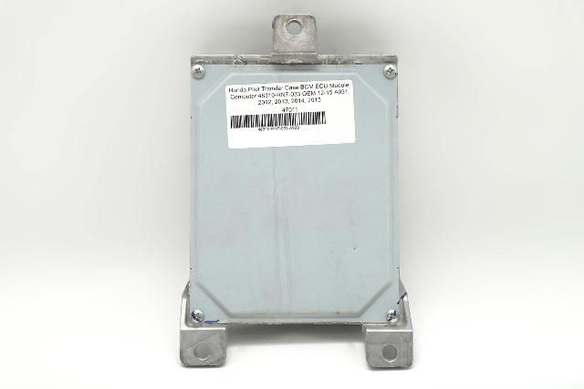 Honda Pilot Transfer Case BCM ECU Module Computer 48310-RN7-033 OEM 12-15 A933 2012, 2013, 2014, 2015