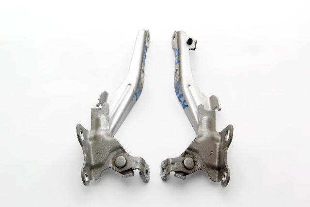 Toyota Venza Hood Hinges Left/Right Silver Set OEM 09 10 11 12 13 14 15 16 17