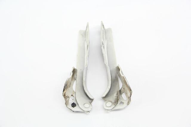 Acura TL Hood Hinges Stay Set Left/Right White OEM 09 10 11 12 13 14