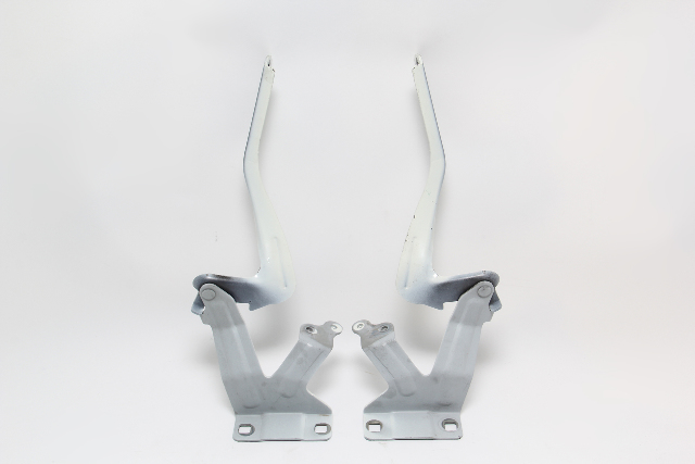 Nissan Leaf Hood Hinge Hinges Left and Right Set (2) White OEM 2011-2012 11 12