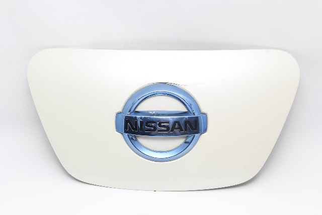 Nissan Leaf Charging Port Lid Cover Complete White 65701-3NB5B OEM 2011-2012