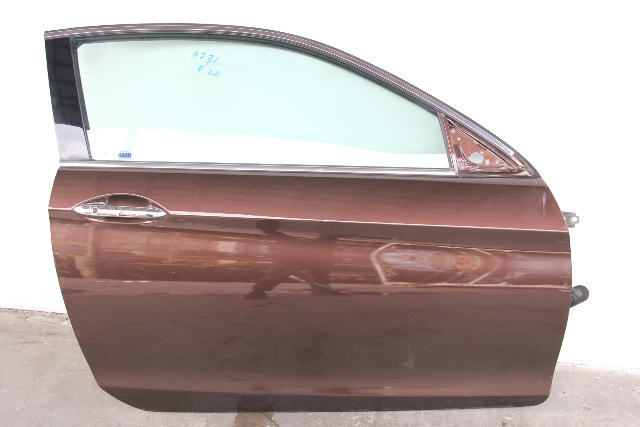 Honda Accord Coupe Front Door Assembly Right/Passenger Bronze OEM 13-17