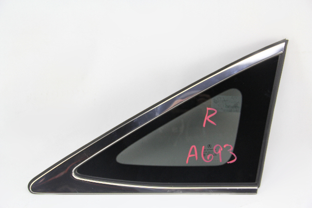 Acura RDX Quarter Glass Window Right/Passenger Side 73501-TX4-A02 OEM 13-18