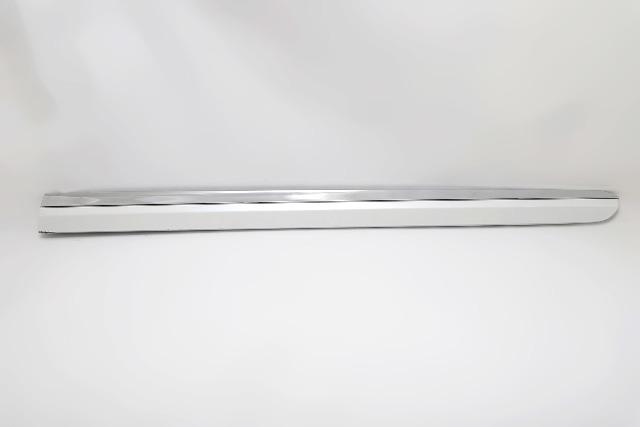 Lexus ES350 07-12 Door Molding Trim White Front Right 2007, 2008, 2009, 2010, 2011, 2012