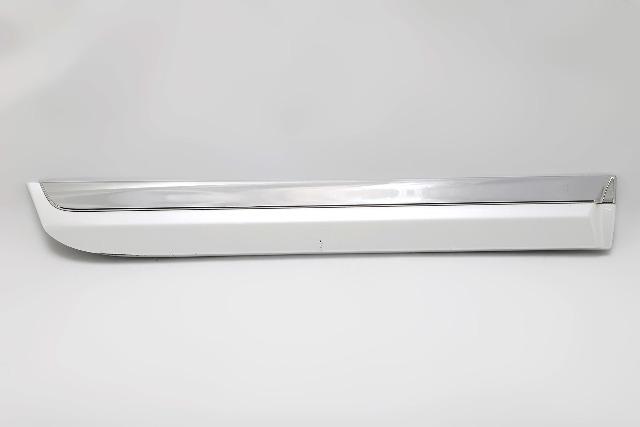 Lexus ES350 07-12 Door Molding Trim White Rear Right A927 2007, 2008, 2009, 2010, 2011, 2012