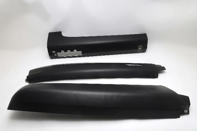 Honda Element Roof Panel Molding Left/Driver Set of 3 Black Textured OEM 05-11 A812 2005, 2006, 2007, 2008, 2009, 2010, 2011