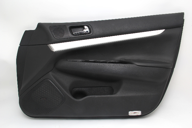 Infiniti G37 Sedan 2009 Door Panel, Front Right/Pass. Black 80900-1NC5B OEM