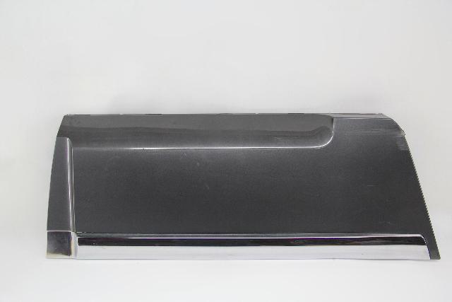 Infiniti QX56 Door Molding Moulding Trim Garnish Charcoal/Gray/Grey Rear Right
