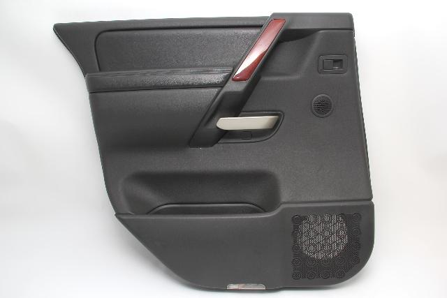 Infiniti QX56 Rear Door Panel Left/Driver Black 82901-7S104 OEM 04 05 06 07 08
