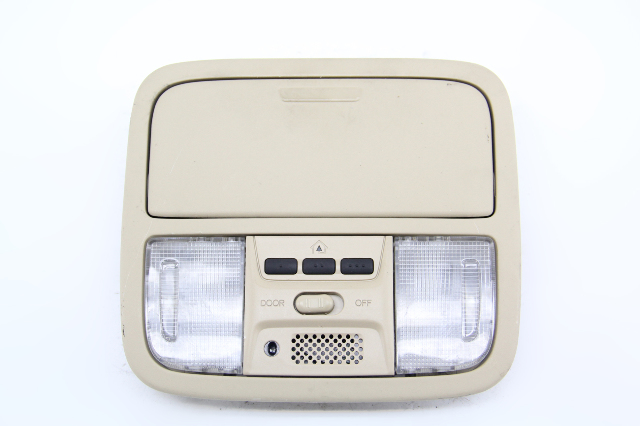Acura TSX Overhead Dome Light Lamp w/Homelink Tan 83250-SDC-A01 OEM 04-08