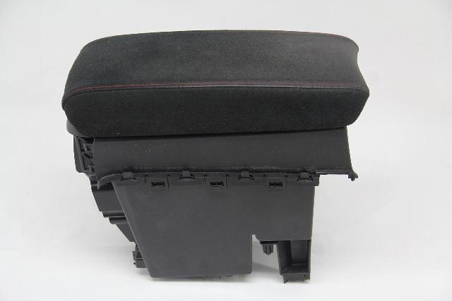 Honda Civic Si Coupe Center Console Pocket Arm Rest Black OEM 06 07 08 09 10 11