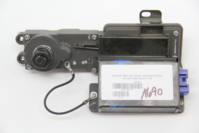 Acura RL Rear Sun Shade Visor Motor 84532-SJA-901 OEM 05 06 07 08