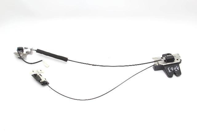 Infiniti M37 M56 11-13 Trunk Luggage Lid Release Latch Lock Actuator 84631-1MA0A
