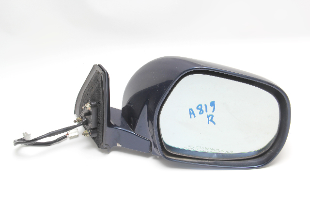 Toyota 4Runner 03-05, Side View Mirror Right, W/ Heat, Blue, 87910-35630-J0 OEM