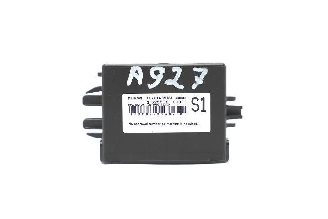 Lexus ES350 Code ECU Module Unit 89784-33050 OEM 11-12 A927 2011, 2012