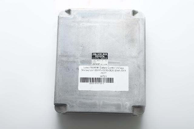 Lexus RX400H Battery Control Voltage Module Unit 89892-48010 OEM 06-08 A912 2006, 2007, 2008