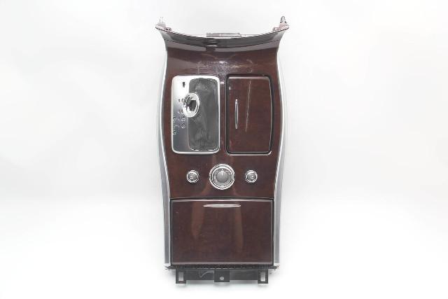 Infiniti M37 Center Console Seat Warmer Cup Holder A/T Shifter 96941-1MA2D 11-13