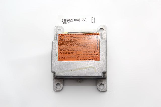 Infiniti QX56 SRS Unit Computer Module Unit 98820-ZE10A OEM 04-07
