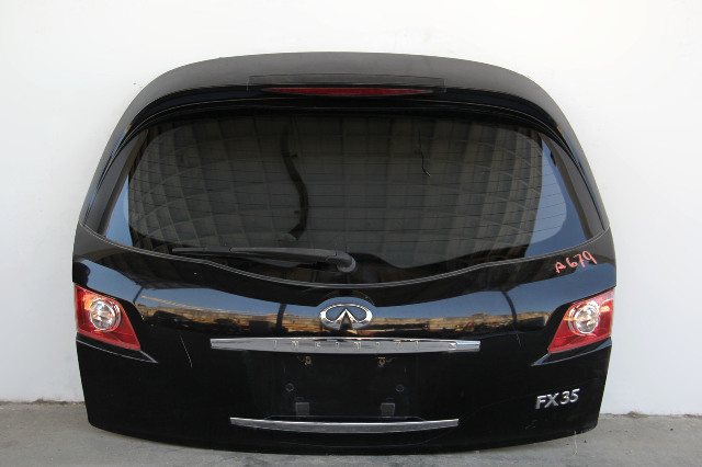 Infiniti FX35 FX45 Trunk Deck Lid Liftgate Gate Assembly Black OEM 03 04 05 06