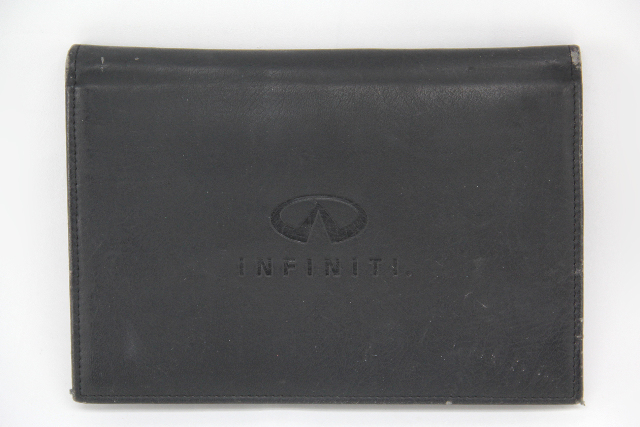 Infiniti G37 Owners Manual Black Leather Factory OEM 2008-2013