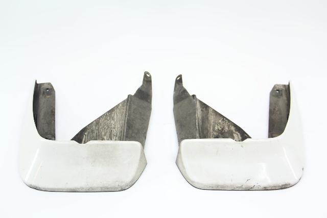 Acura TL Mud Guard Flap Splash Shield White Rear Left/Right Set OEM 09-14