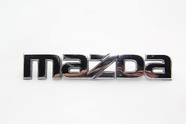 "Mazda RX-8 Rear Trunk Lift-gate Deck Lid Emblem ""Mazda"" ONLY OEM 04-08"