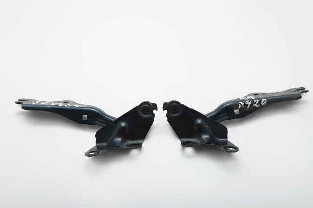 Mazda RX-8 RX8 Hood Hinge Left/Right 2 Piece Set Kit Blue OEM 04-11 A920 2004, 2005, 2006, 2007, 2008, 2009, 2010, 2011