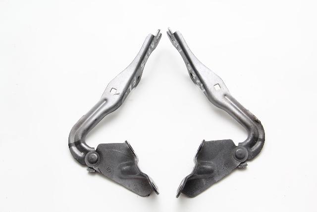Mazda RX-8 RX8 Hood Hinge Left/Right 2 Piece Set Kit Gray/Grey OEM 2004-2011