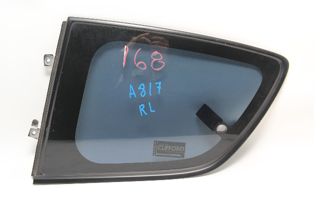 Mazda RX8 Rear Door Window Glass Left/Driver Quarter FE01735G0E OEM 04-11 A920 2004, 2005, 2006, 2007, 2008, 2009, 2010, 2011