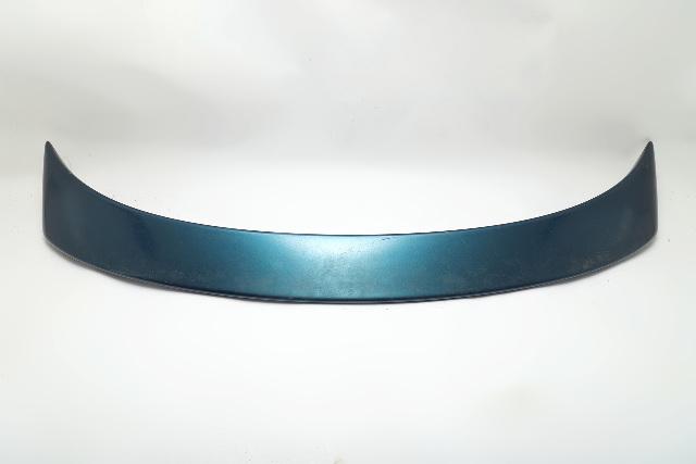 Mazda RX8 RX-8 Rear Trunk Spoiler Wing Blue FE1551960B74 OEM 04-08 A920 2004, 2005, 2006, 2007, 2008